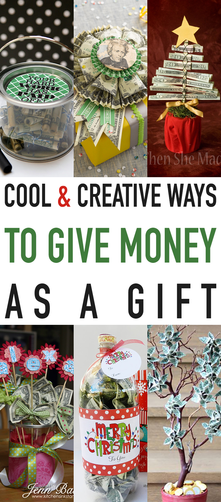 Cool and Creative Ways To Give Money As A Gift - The Cottage Market