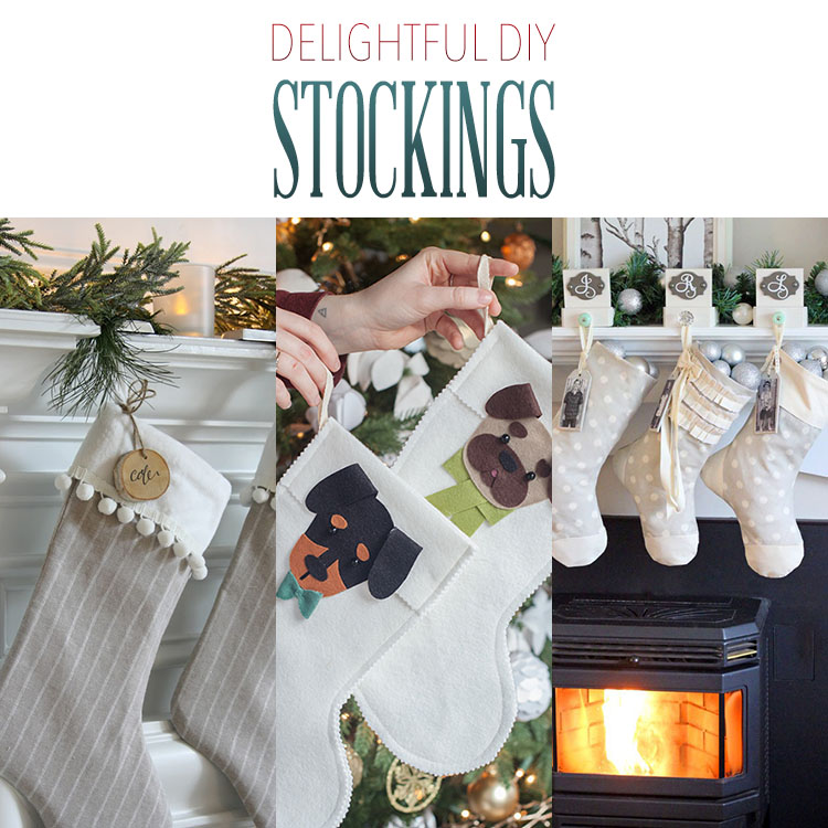 Delightful DIY Stockings