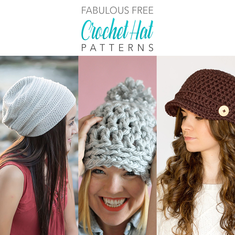 Fabulous FREE Crochet Hat Patterns