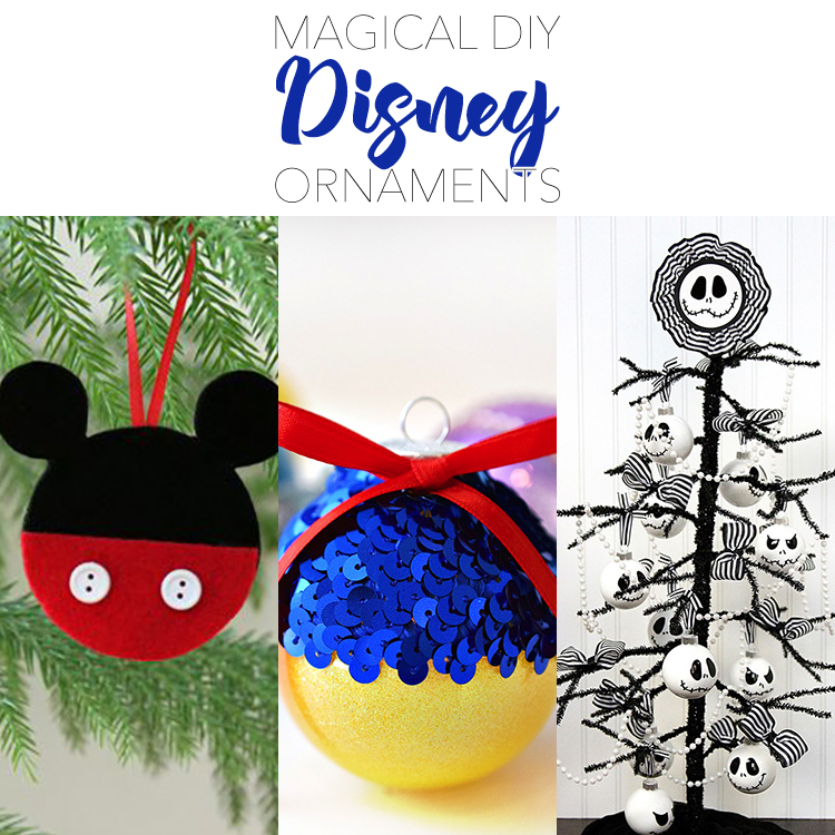 Magical DIY Disney Ornaments