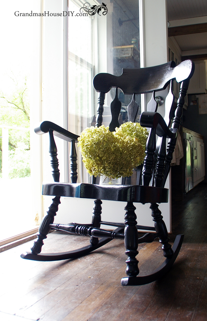 old-rocking-chair-painted-black