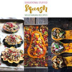 Sensational Stuffed Squash Vegetarian Recipes