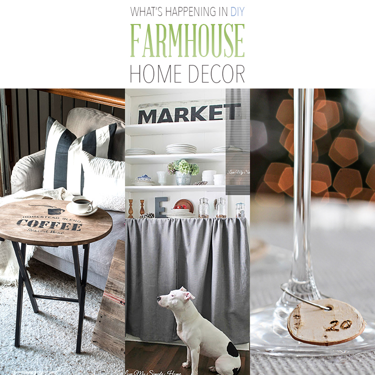 What's Happening in DIY Farmhouse Home Decor