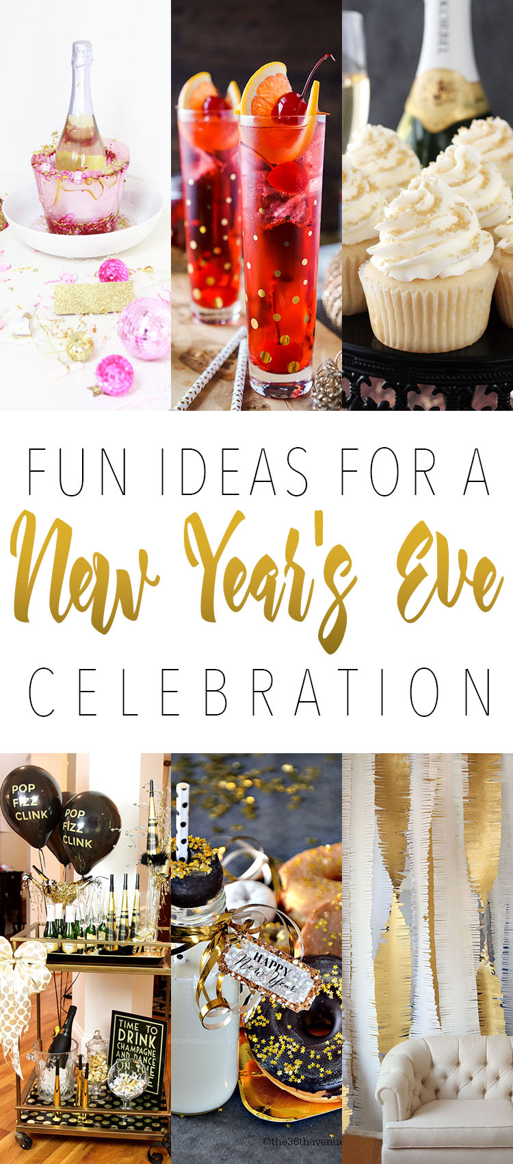 Fun Ideas For A New Year\'s Celebration - The Cottage Market