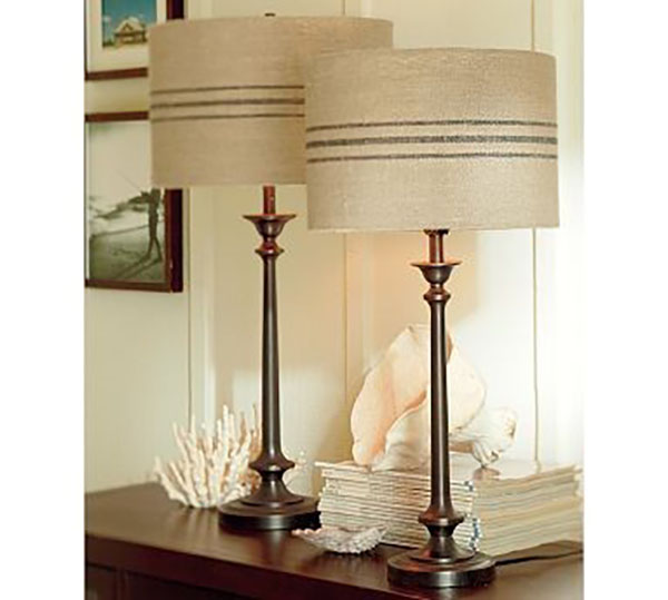 Pottery Barn Replacement Lamp Shades: Pottery Barn Knock-Offs With A Farmhouse Style