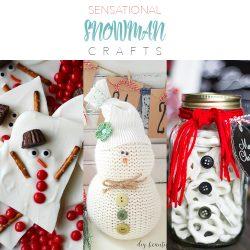 Sensational Snowman Crafts