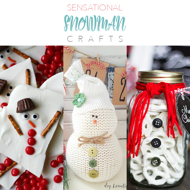 Sensational Snowman Crafts