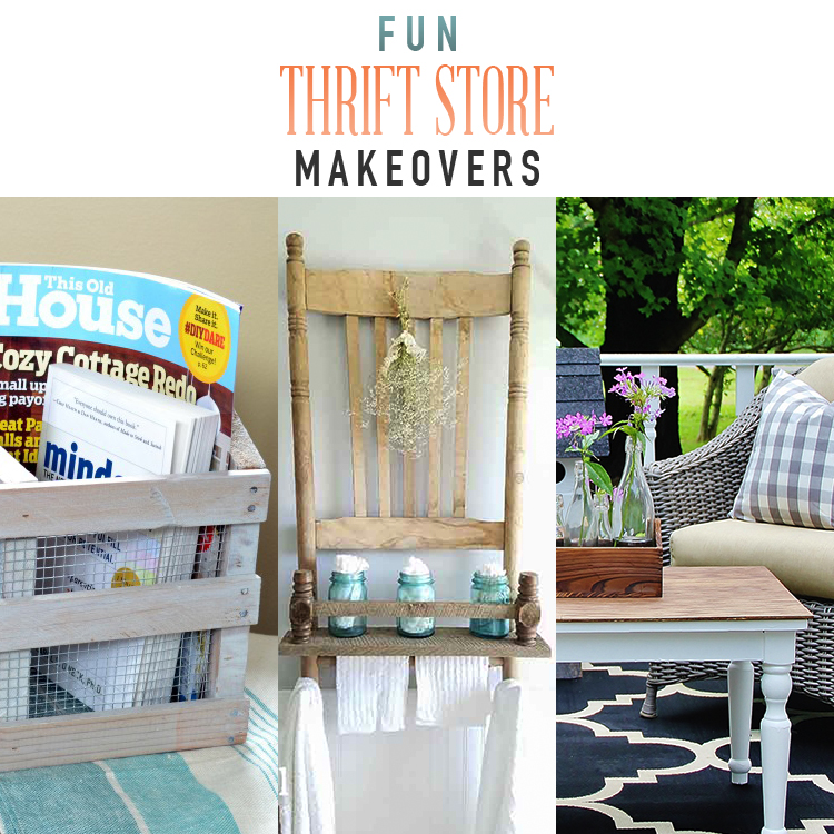 Fun Thrift Store Makeovers
