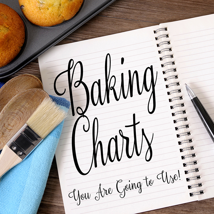 21 Baking Charts That You Will Use!