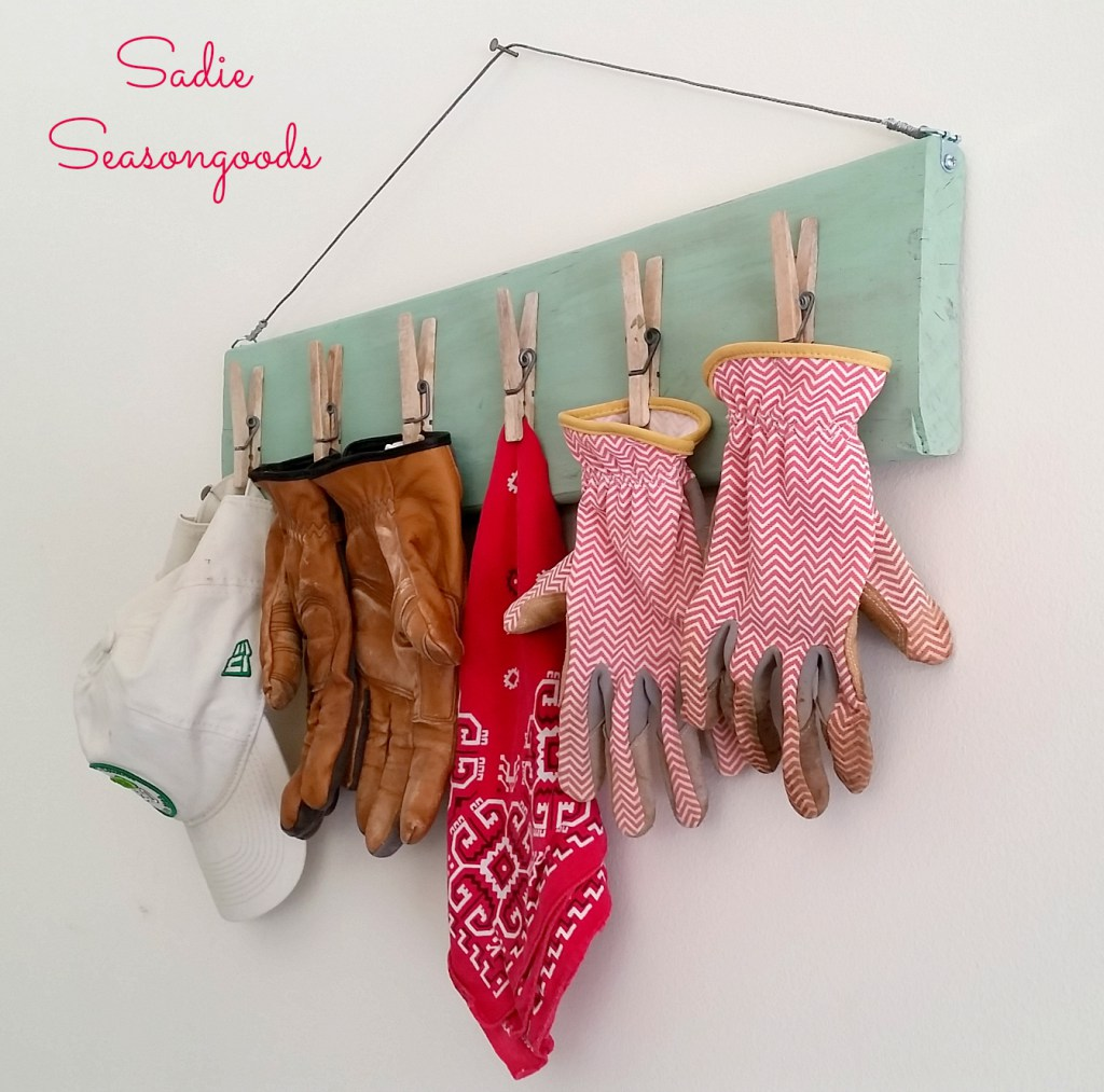 10_salvaged_wood_vintage_clothespin_gardening_glove_clip_board_organizer_Sadie_Seasongoods