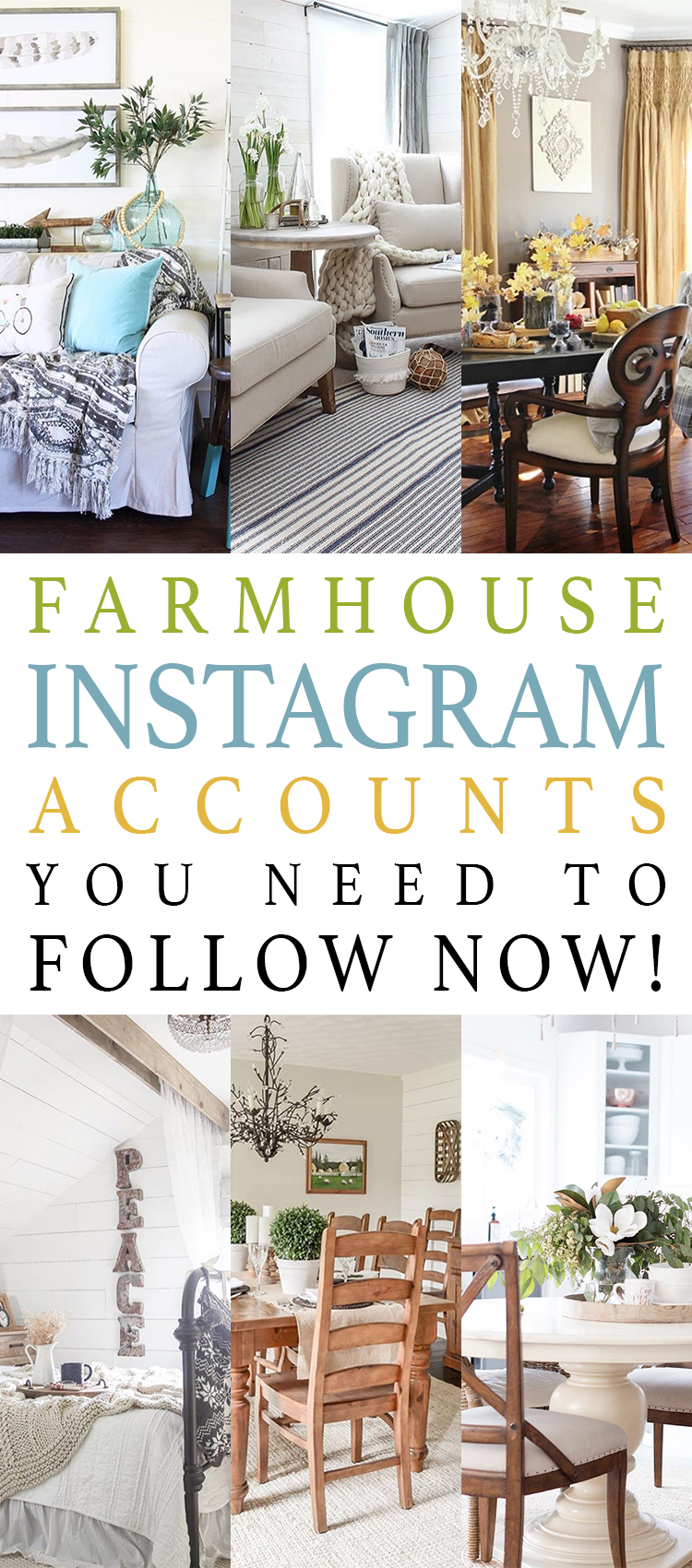 Farmhouse Instagram Accounts You Need to Follow NOW