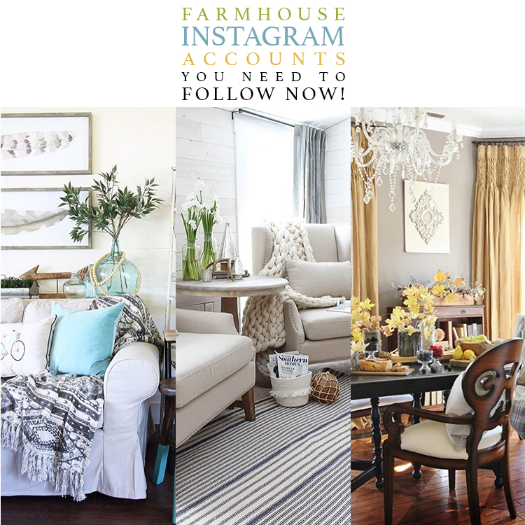Farmhouse Instagram Accounts You Need to Follow NOW!