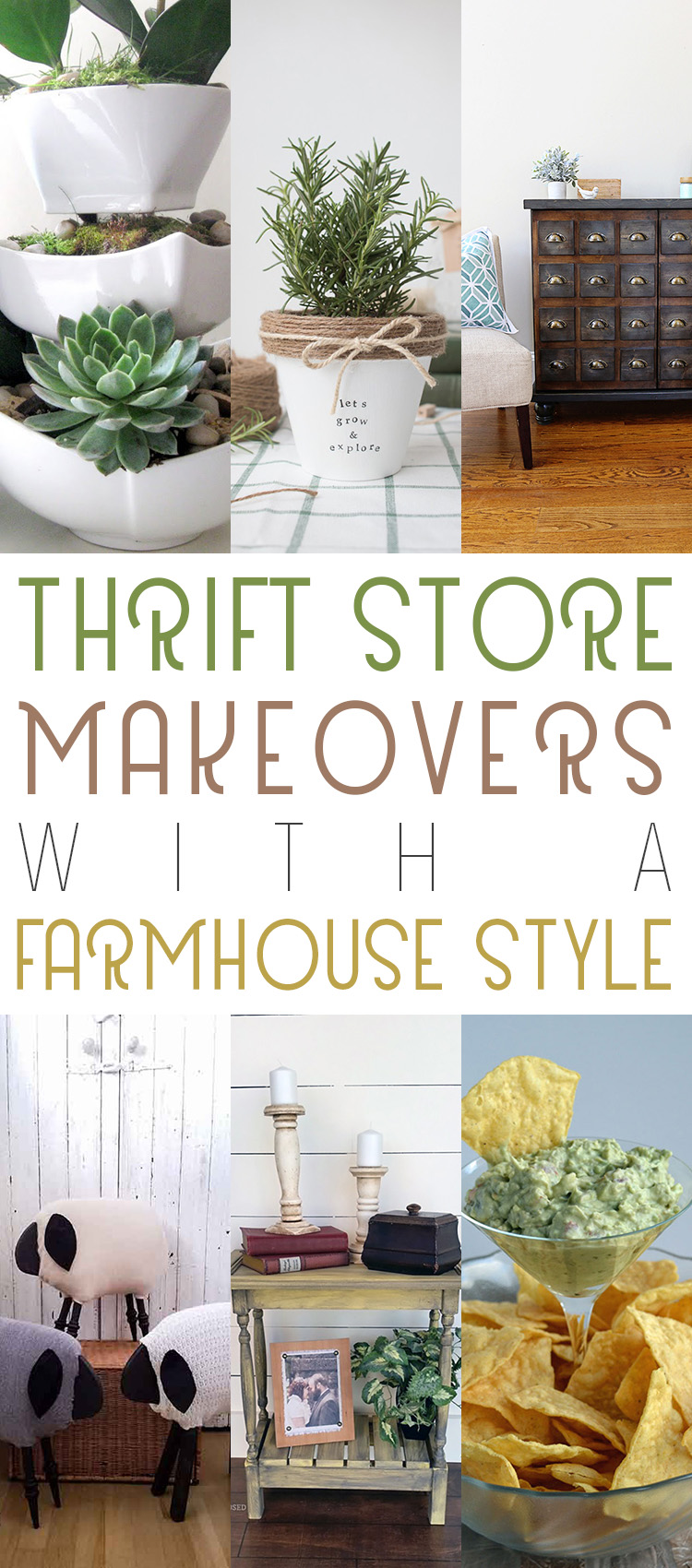 Thrift Store Makeovers with Farmhouse Style! - The Cottage ...