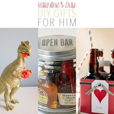 Valentine's Day DIY Gifts for Him