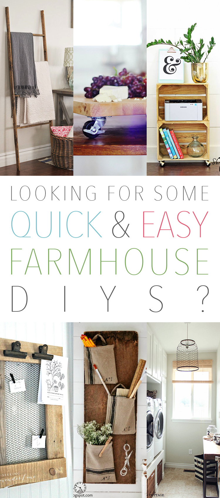 looking for some quick and easy farmhouse diys the cottage market