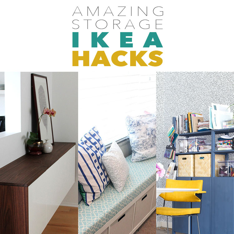 Amazing Storage IKEA Hacks The