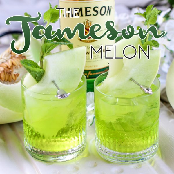 The Jameson Melon /// A St. Patrick's Day Cocktail