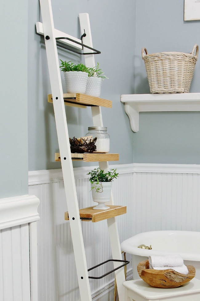 Luxury  Ideas for Repurposing Old Ladders Farmhouse Style DIYS The Cottage Market