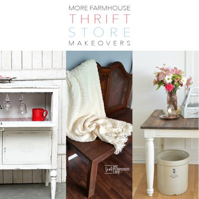 More Farmhouse Thrift Store Makeovers