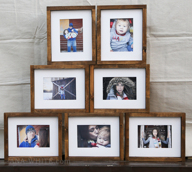 Make your own picture frames with this super simple DIY tutorial