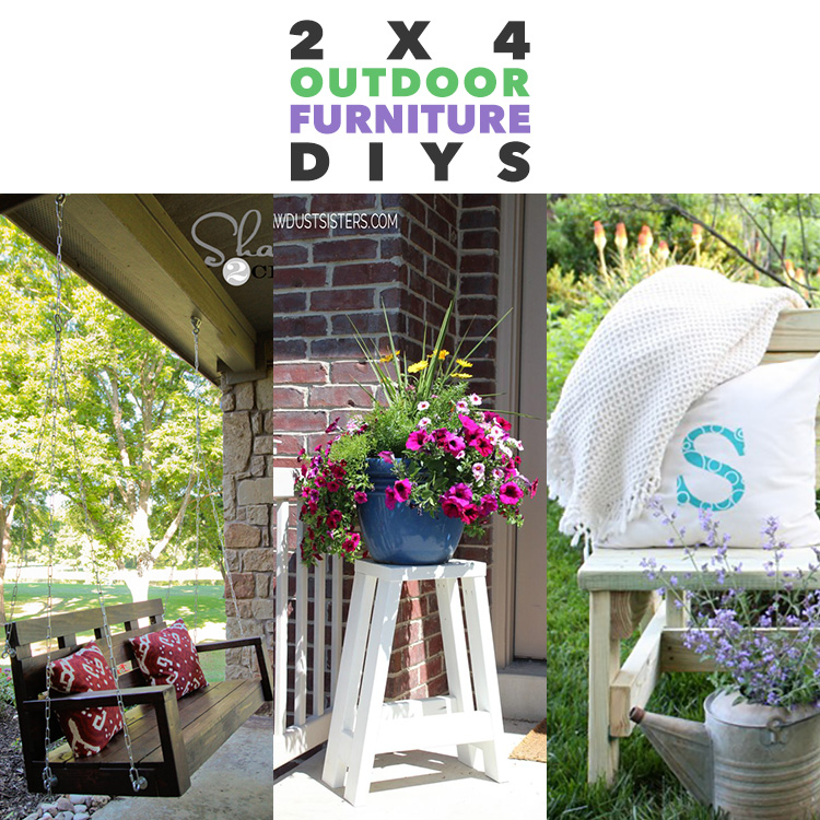 fabulous outdoor furniture you can build with 2x4s the cottage market rh thecottagemarket com DIY 2 X 4 Furniture Outdoor Pallet Furniture