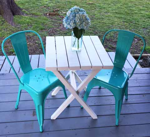 Fabulous Outdoor Furniture You Can Build With 2x4s The Cottage Market