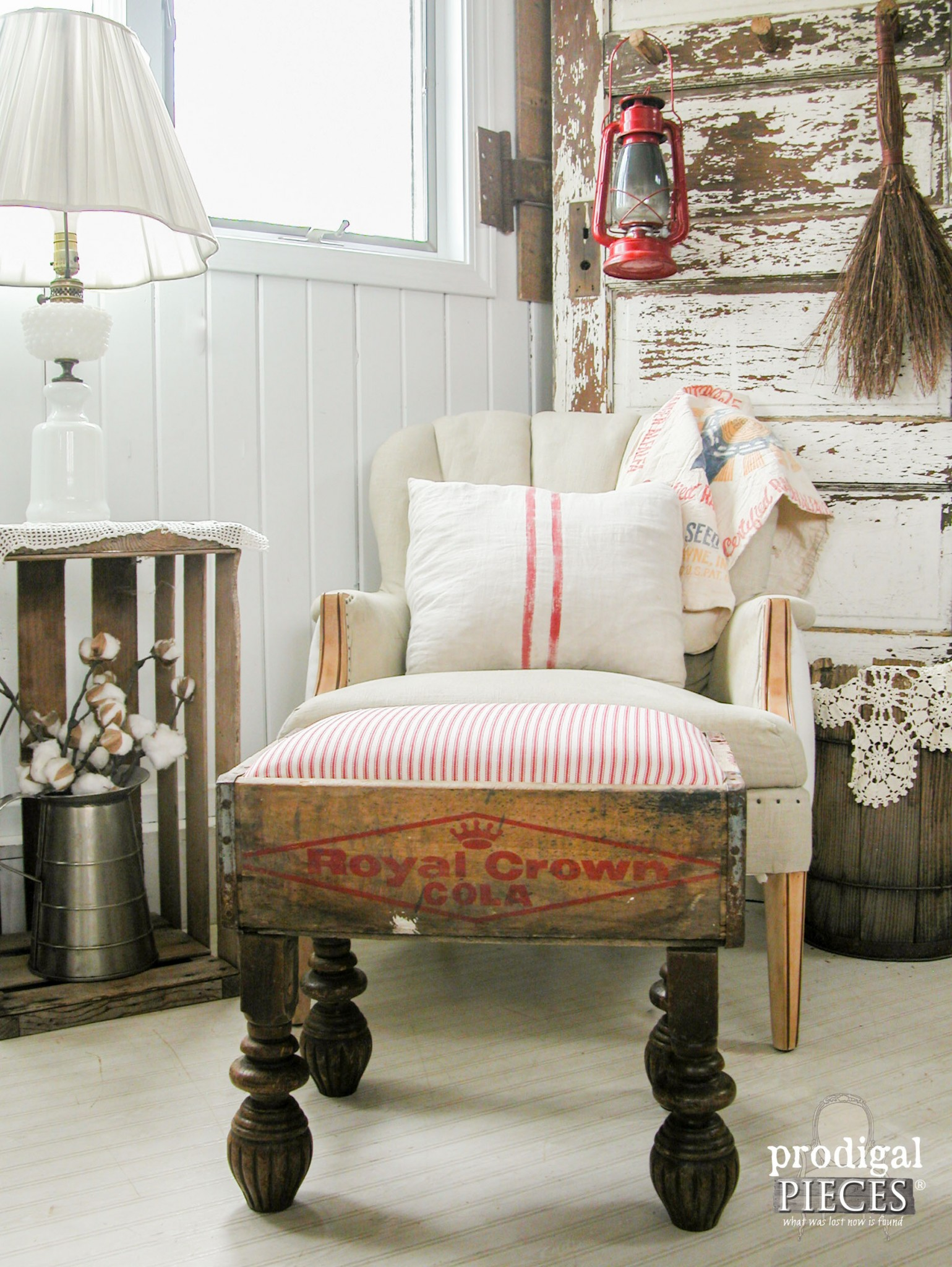 Creative Farmhouse Crate DIY Projects - The Cottage Market