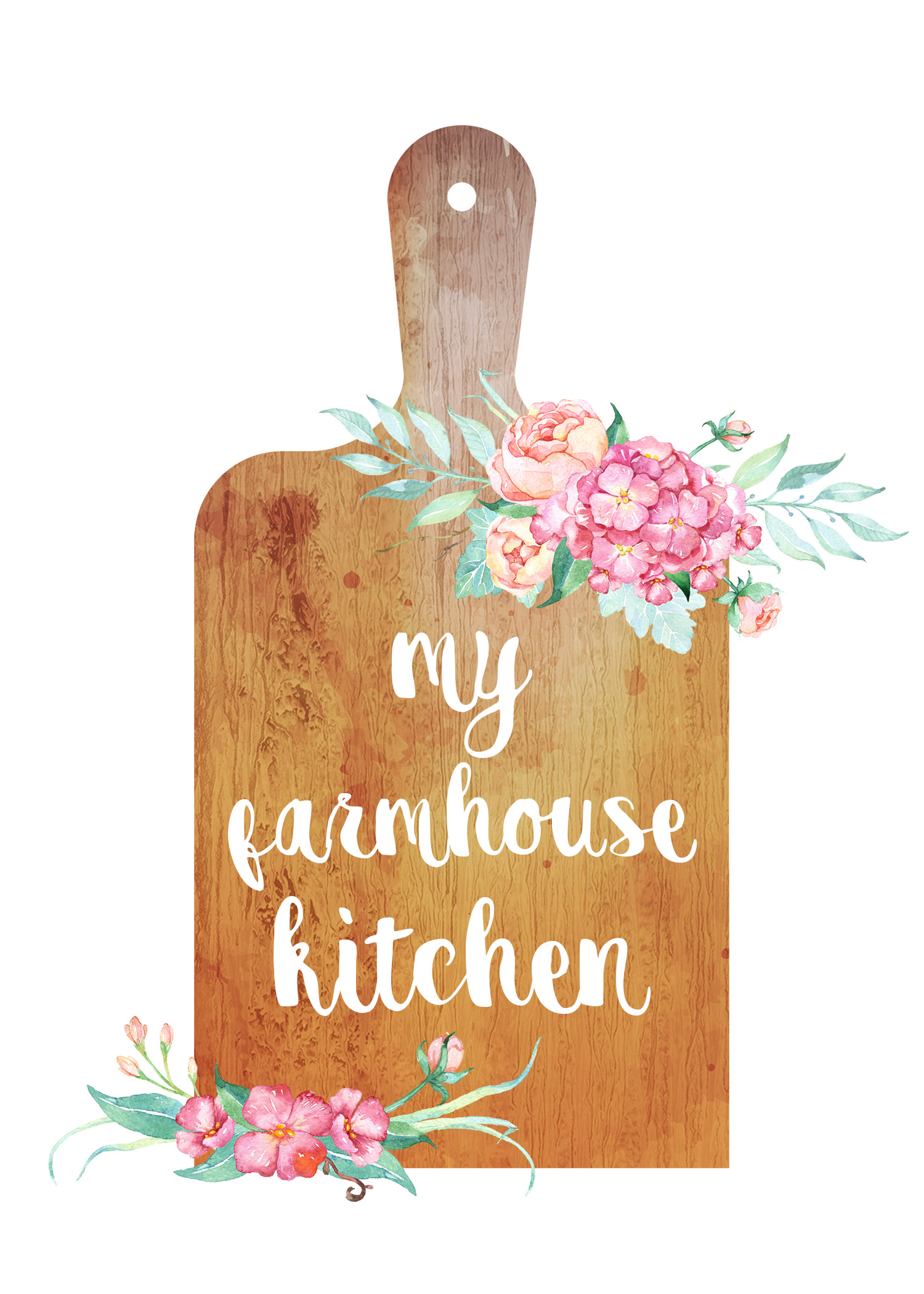 Free Printable Farmhouse Kitchen Wall Art Collection The