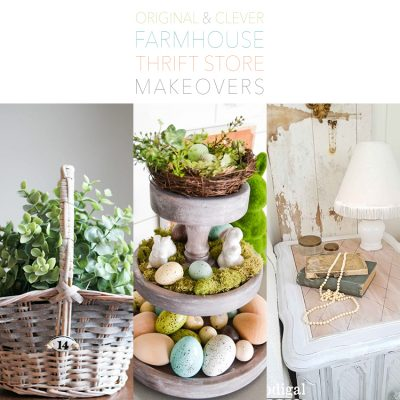 Original and Clever Farmhouse Thrift Store Makeovers