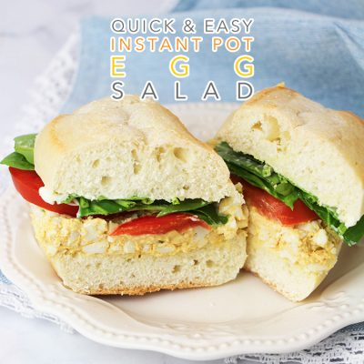 Quick and Easy Instant Pot Egg Salad