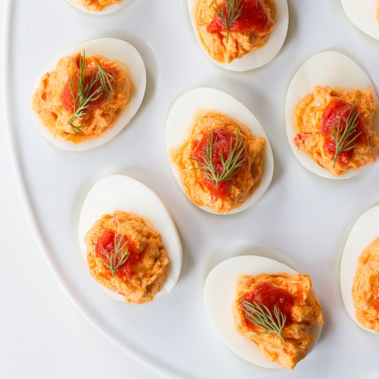 how to make really good deviled eggs