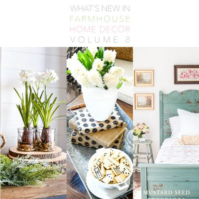 What's New In Farmhouse Home Decor Volume 8