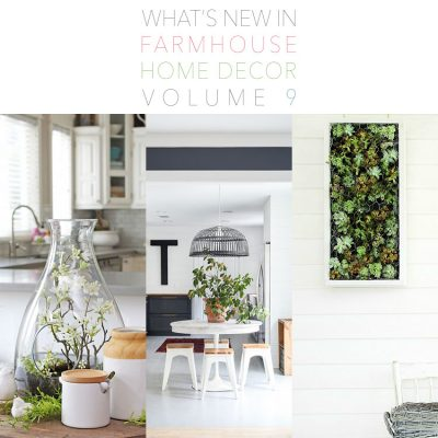 What's New in Farmhouse Home Decor Volume 9