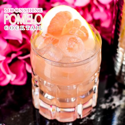 Moonshine Pomelo Cocktail