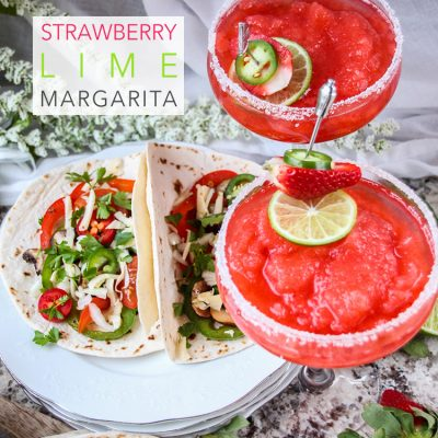 Strawberry Lime Margarita
