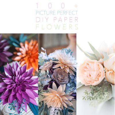 100+ Picture Perfect DIY Paper Flowers