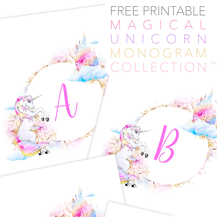 Accomplished image for free printable unicorn template