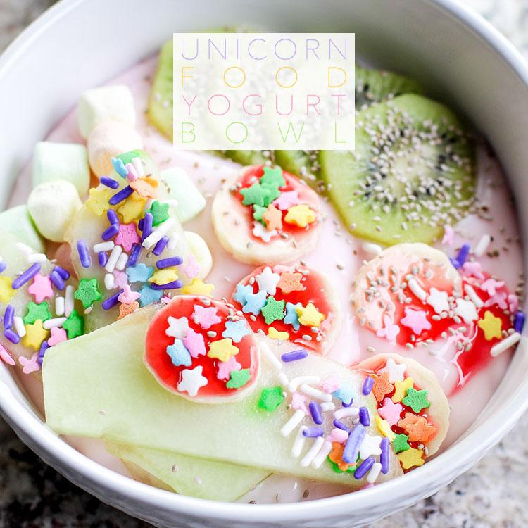 Unicorn Food Yogurt Bowl The Cottage Market