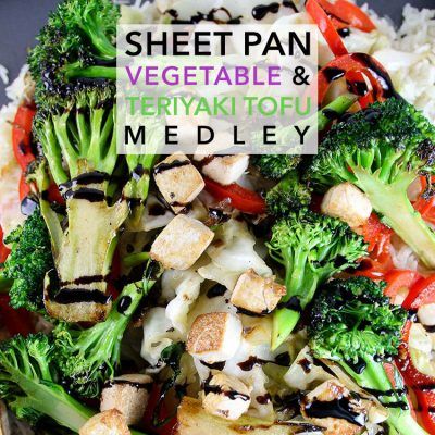 Sheet Pan Vegetable and Teriyaki Tofu Medley