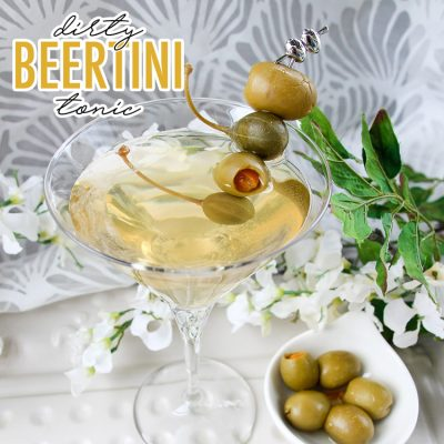 Dirty Beertini Tonic