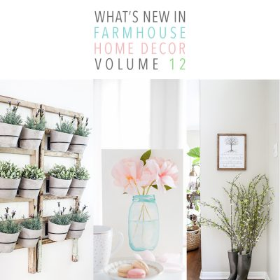 What's New In Farmhouse Home Decor Volume 12