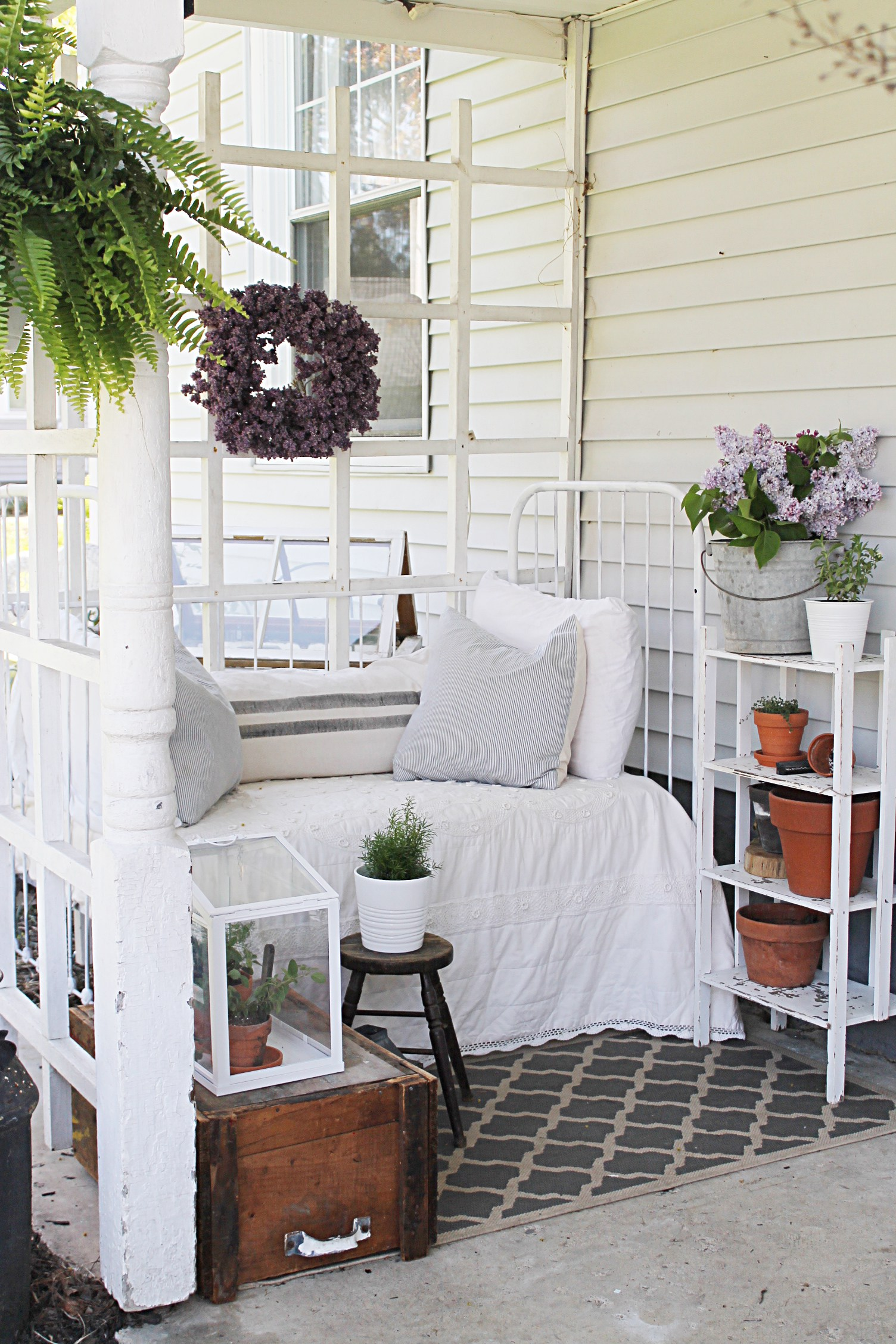 farmhouse decor summer edition porch cottage around