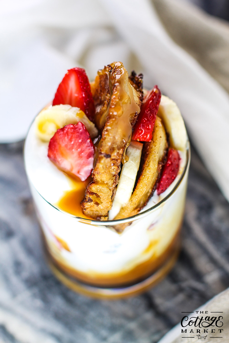 French Toast And Yogurt