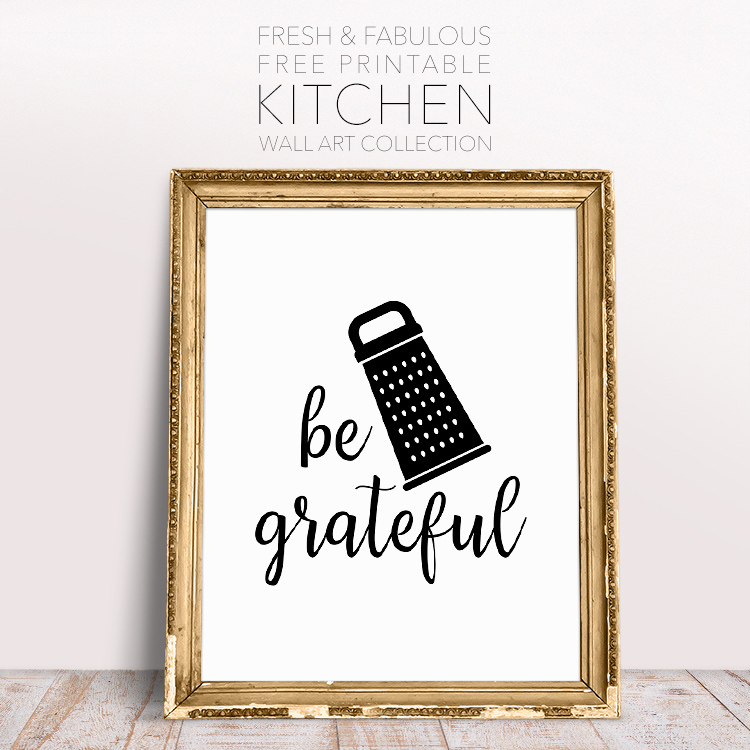 Free Kitchen Art Printables: Fresh And Fabulous Free Printable Kitchen Wall Art