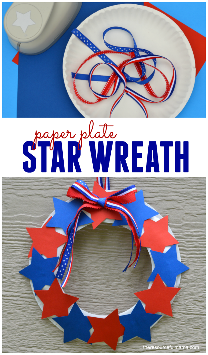 12 Perfect Patriotic Red White And Blue Crafts For Kids The