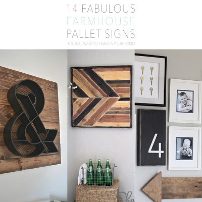 14 Fabulous Farmhouse Pallet DIY Signs You Will Want to Hang In Your Home!
