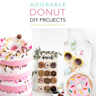 Adorable Donut DIY Projects That Are Almost Good Enough To Eat
