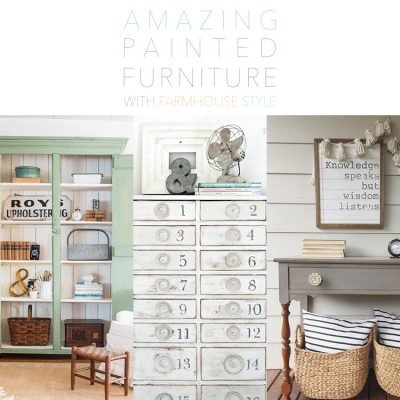 Amazing Painted Furniture With Farmhouse Style