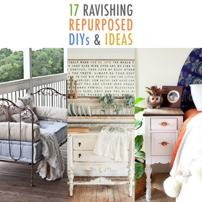 17 Ravishing Repurposed DIYS and Ideas