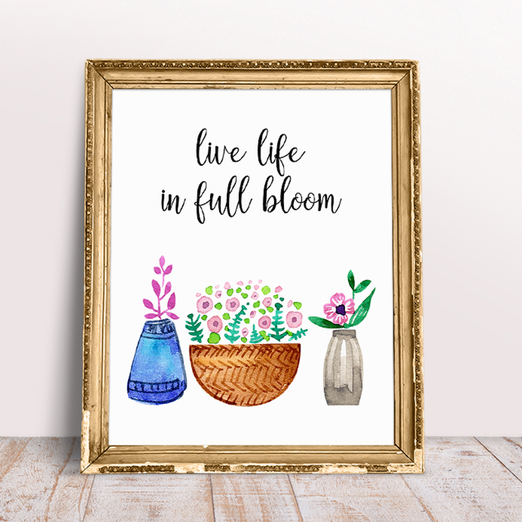 photograph relating to Free Printable Quotes to Frame referred to as Free of charge Printable Whimsical Inspirational Quotations - The Cottage